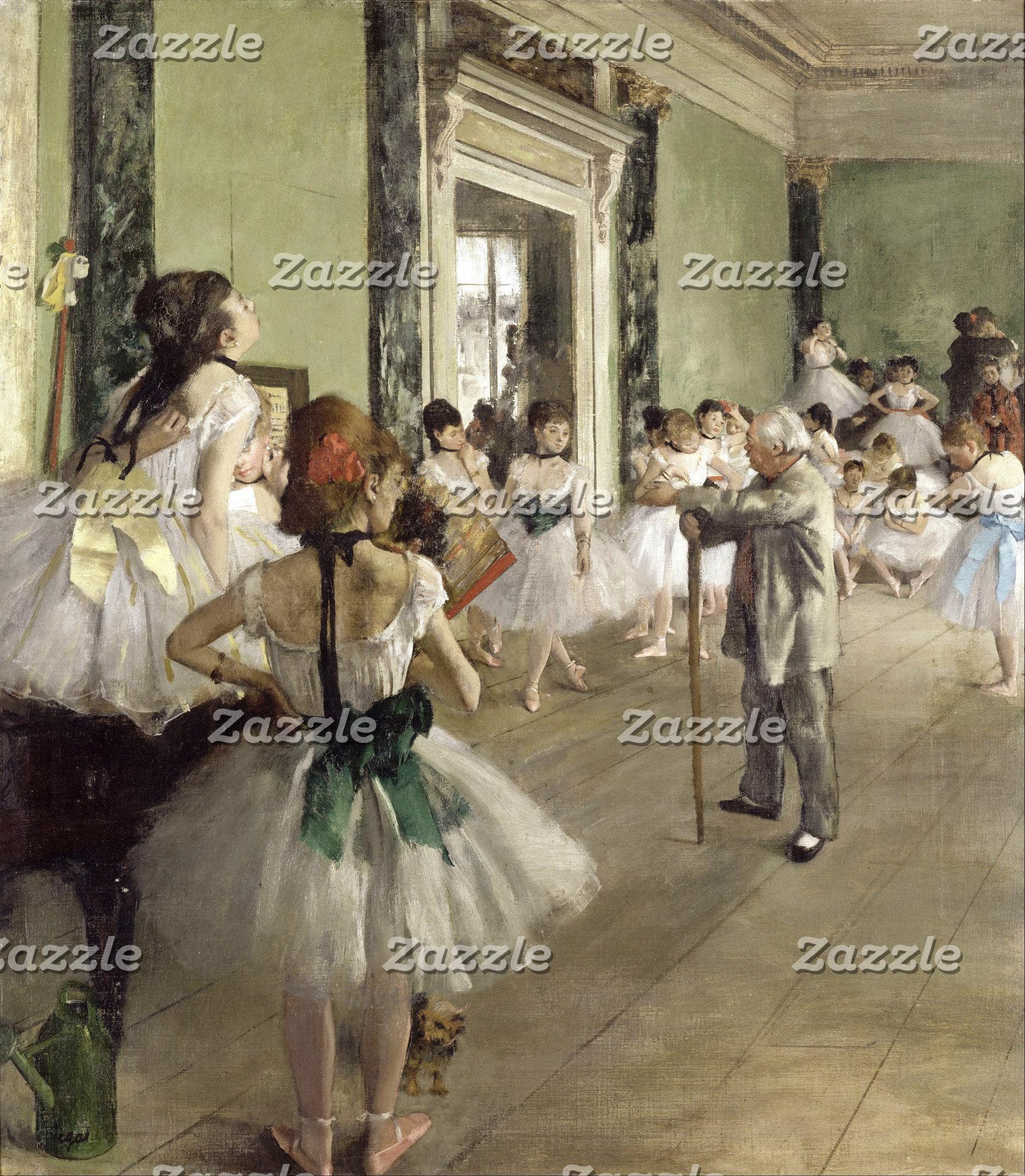 Edgar Degas | The Ballet Class