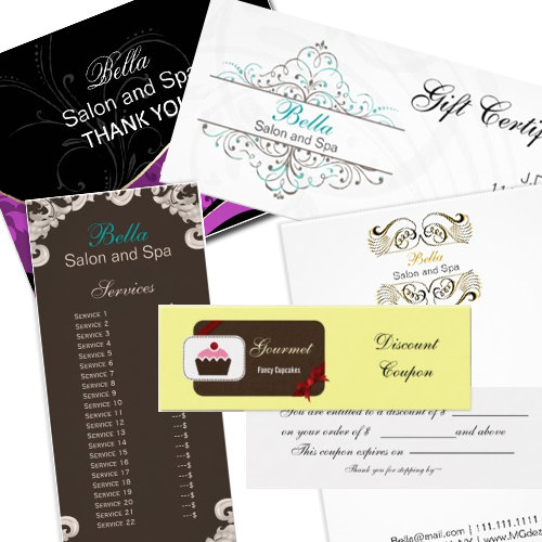 Customizable Business Stationery