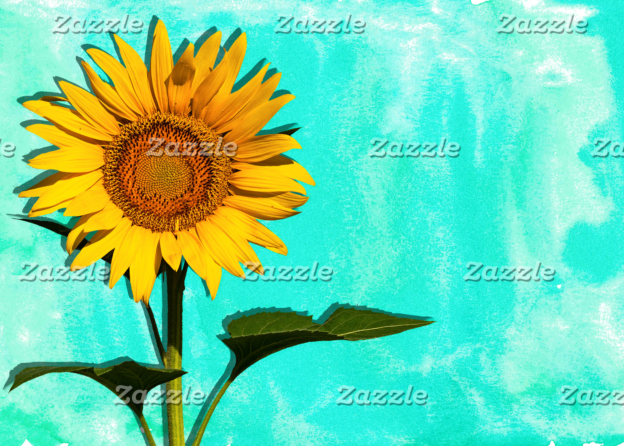 Watercolor Sunflower Collection