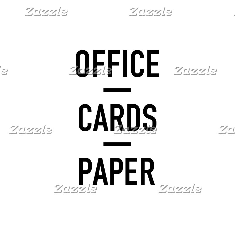 Office | Cards | Paper