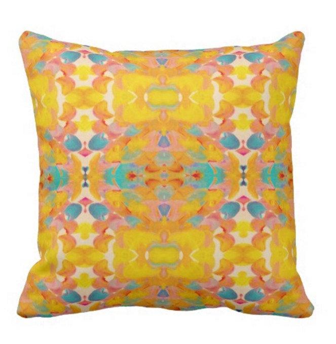 Aztec Tribal Pillows