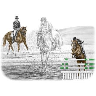 Eventing Horse Art