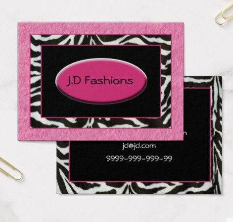 Chic Business Cards