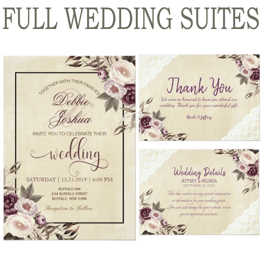 Full Wedding Suites