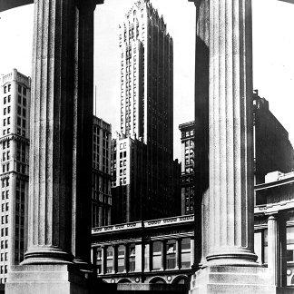 1960:  Architecture at Chicago, Illinois