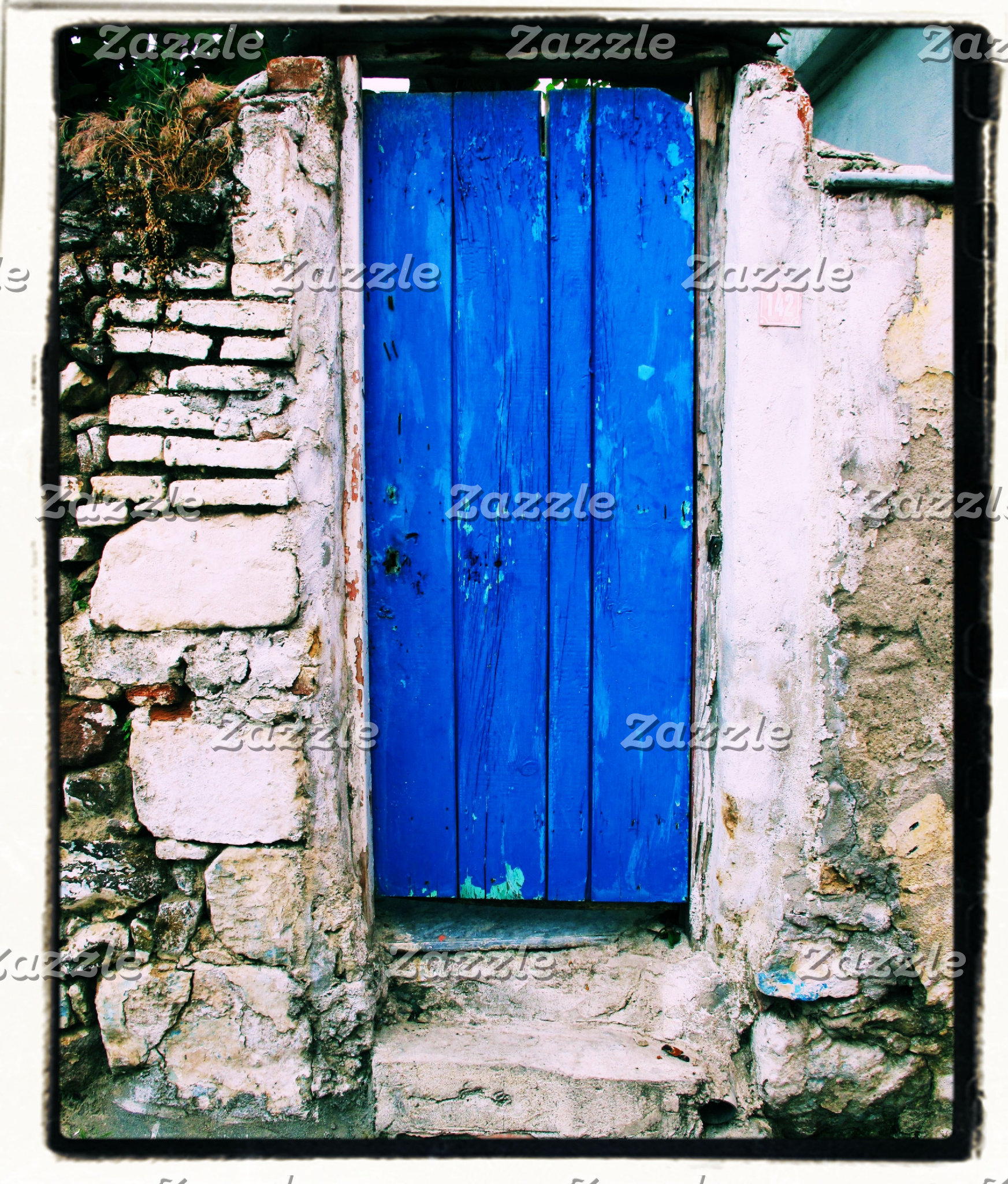 Blue Door Greece