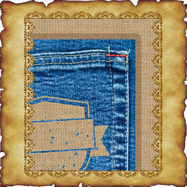 Burlap and Denim