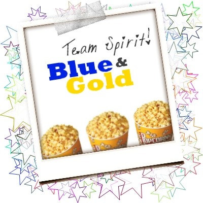 E. Blue and Gold