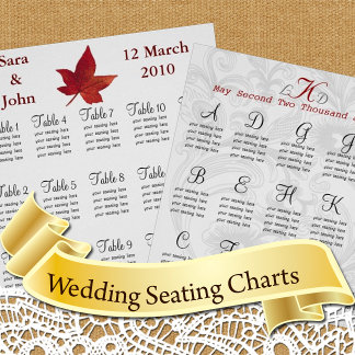 Wedding Seating Charts