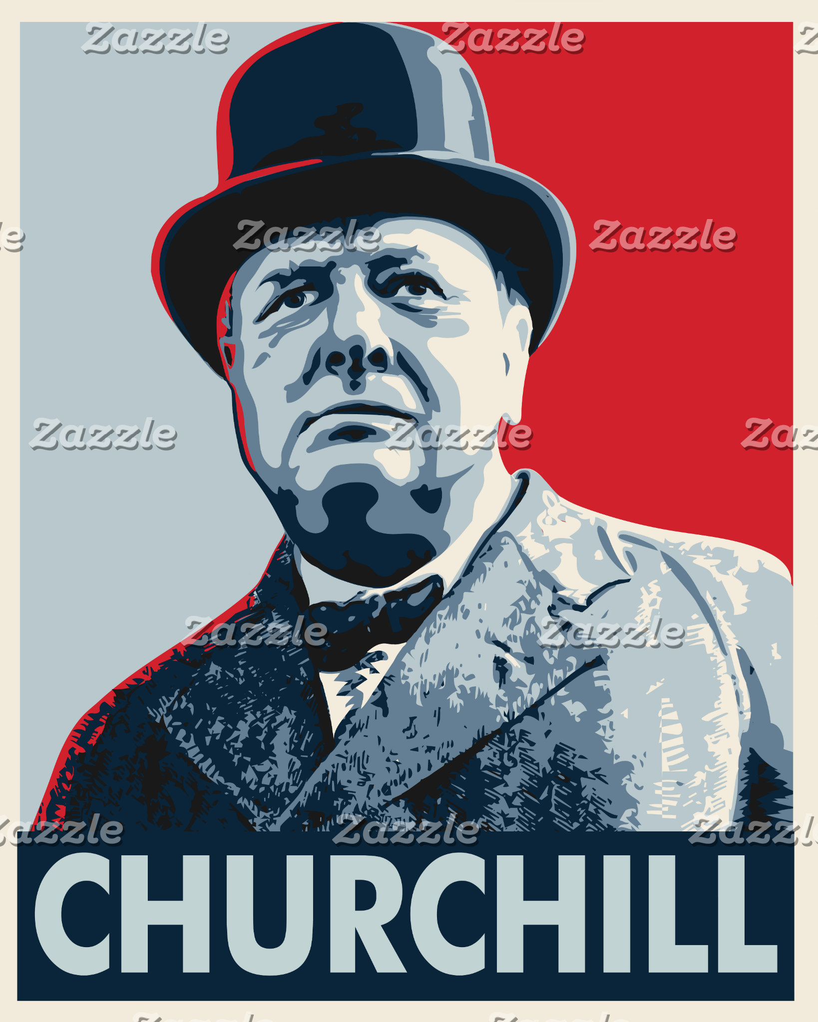 Winston Churchill Vector