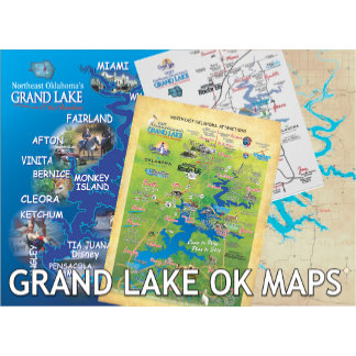 Grand Lake OK Maps