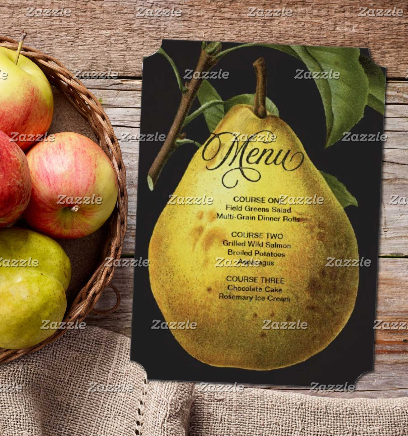 Menus & Place Cards