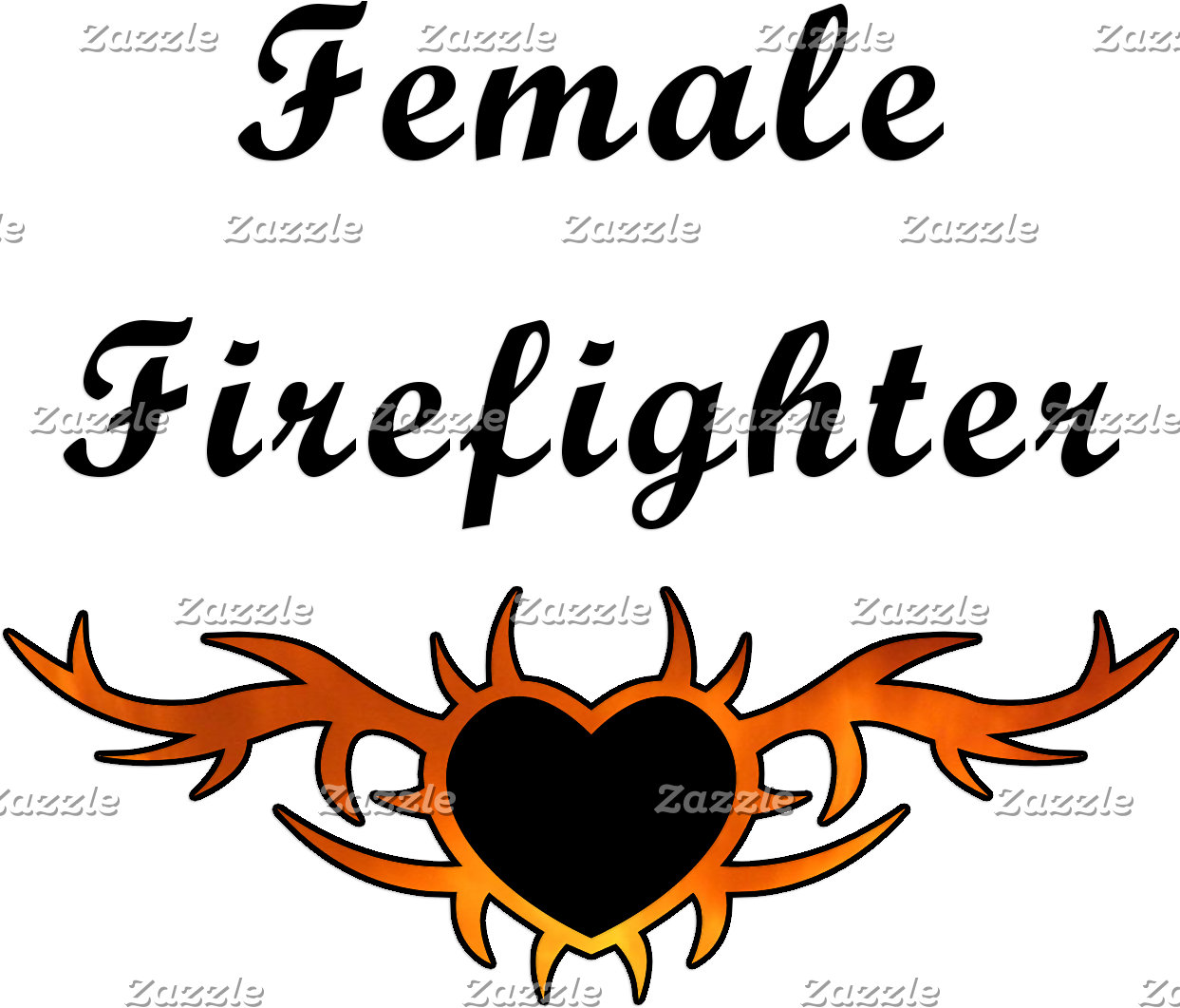 Female Firefighter Tattoo