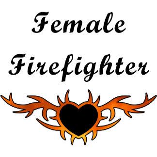 Female Firefighter Tattoo