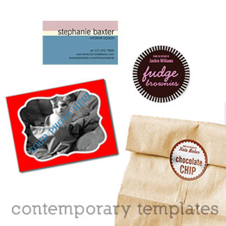 contemporary templates