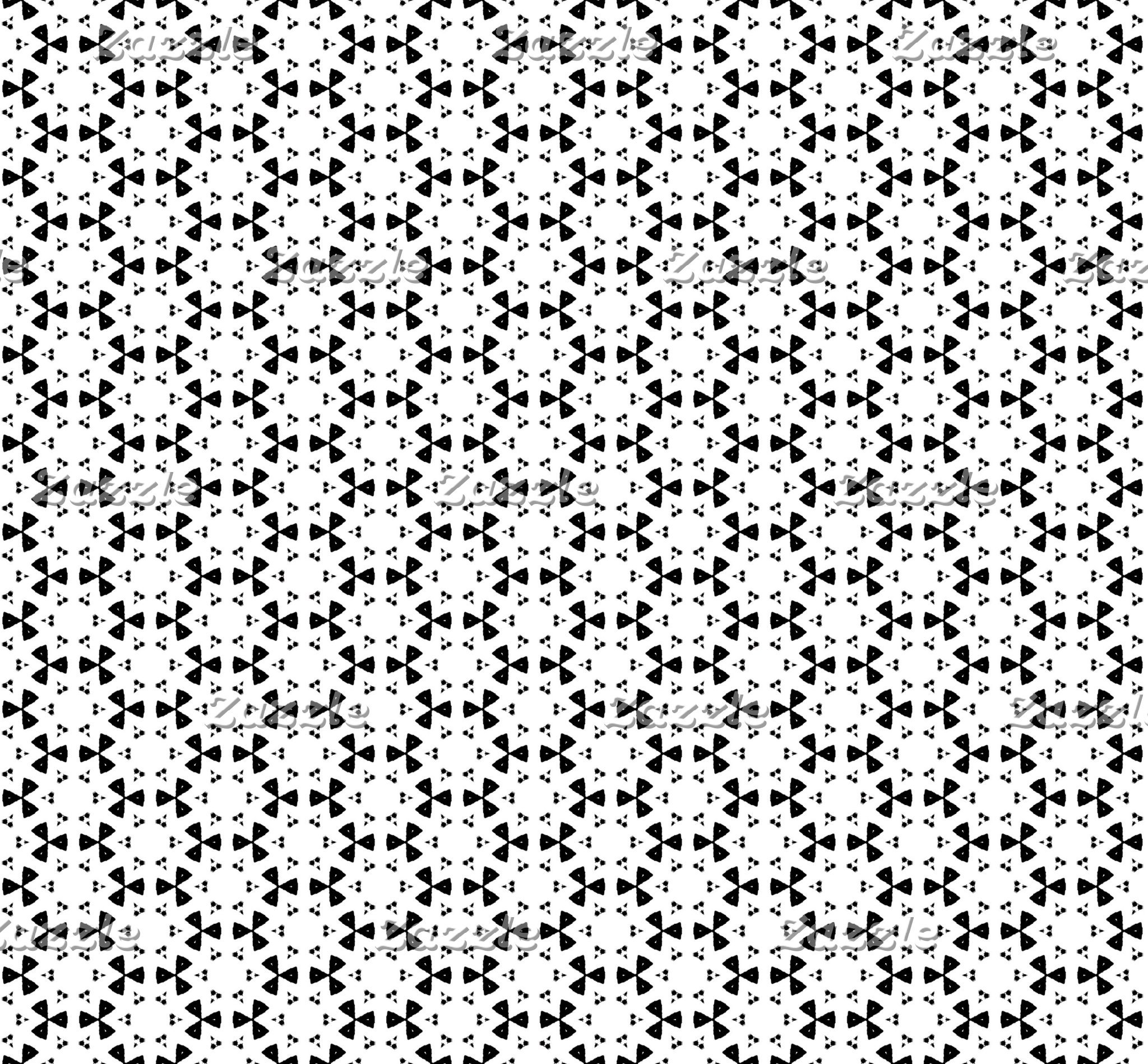 Black & White Patterns | Hexagons VII
