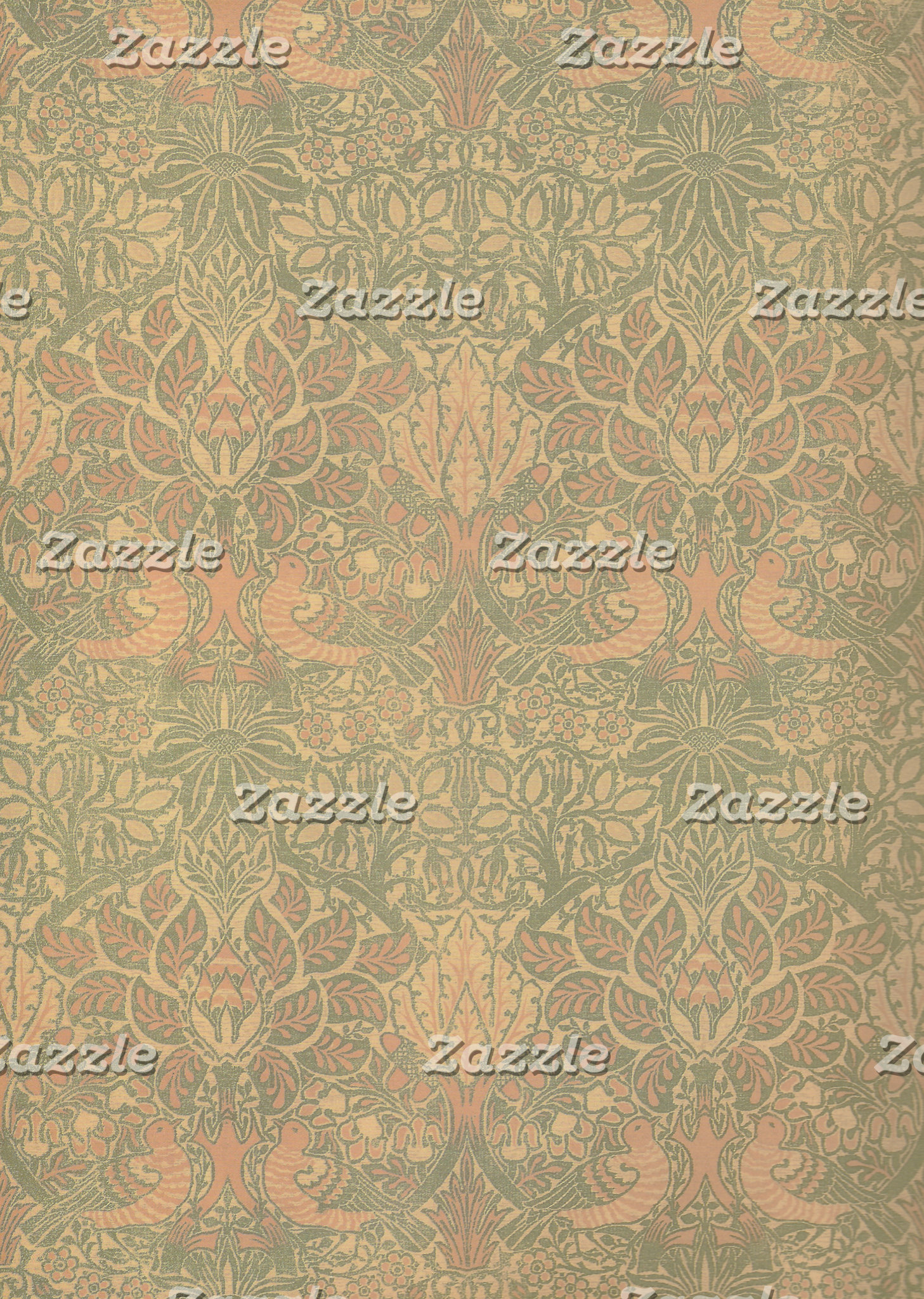 William Morris Dove and Rose Pattern
