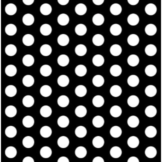 Black White Polka Dots