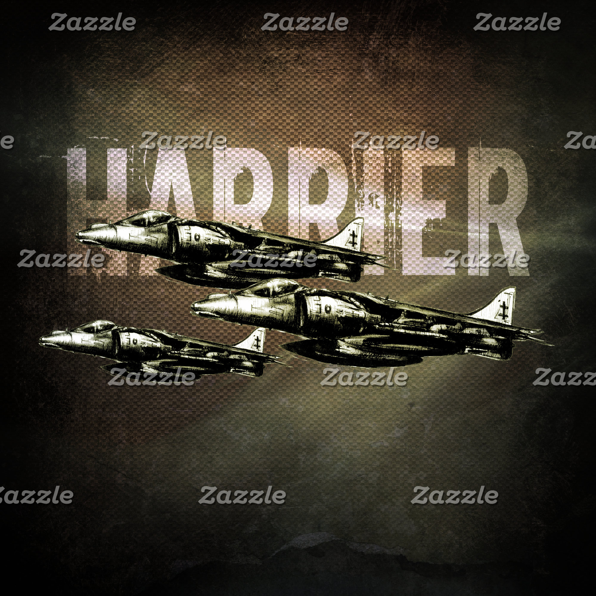 Harrier Jet Fighter-Bombers