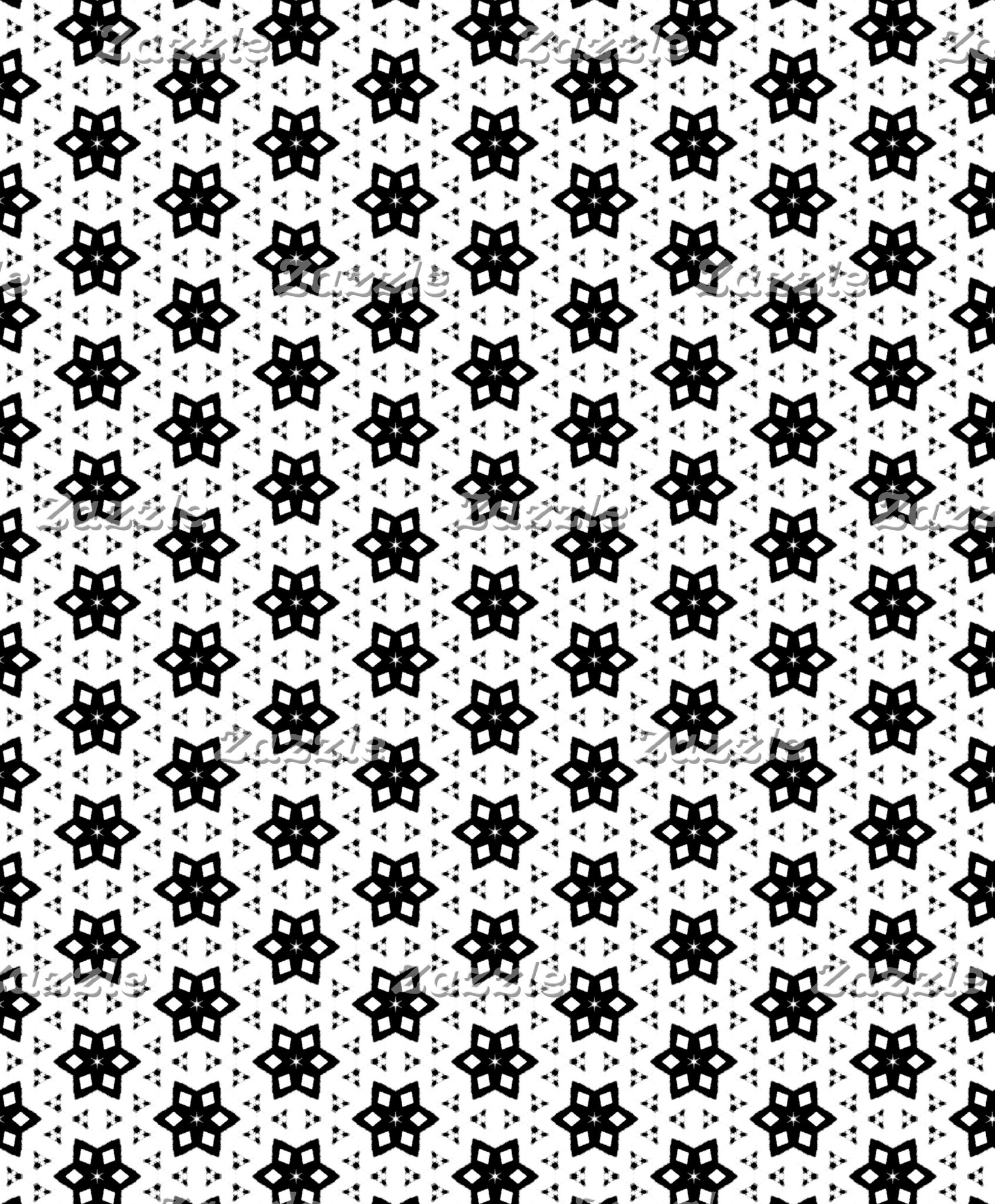 Black & White Patterns | Hexagons III