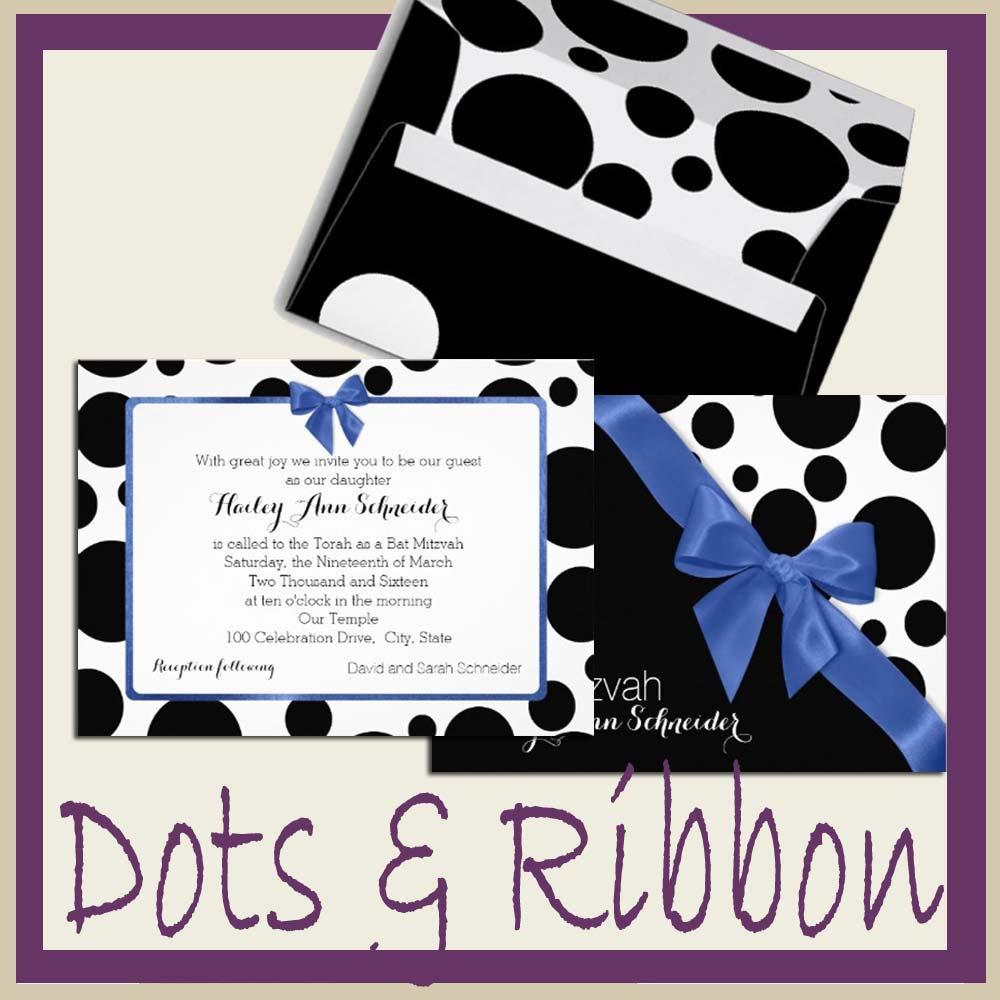 Dots and Ribbon
