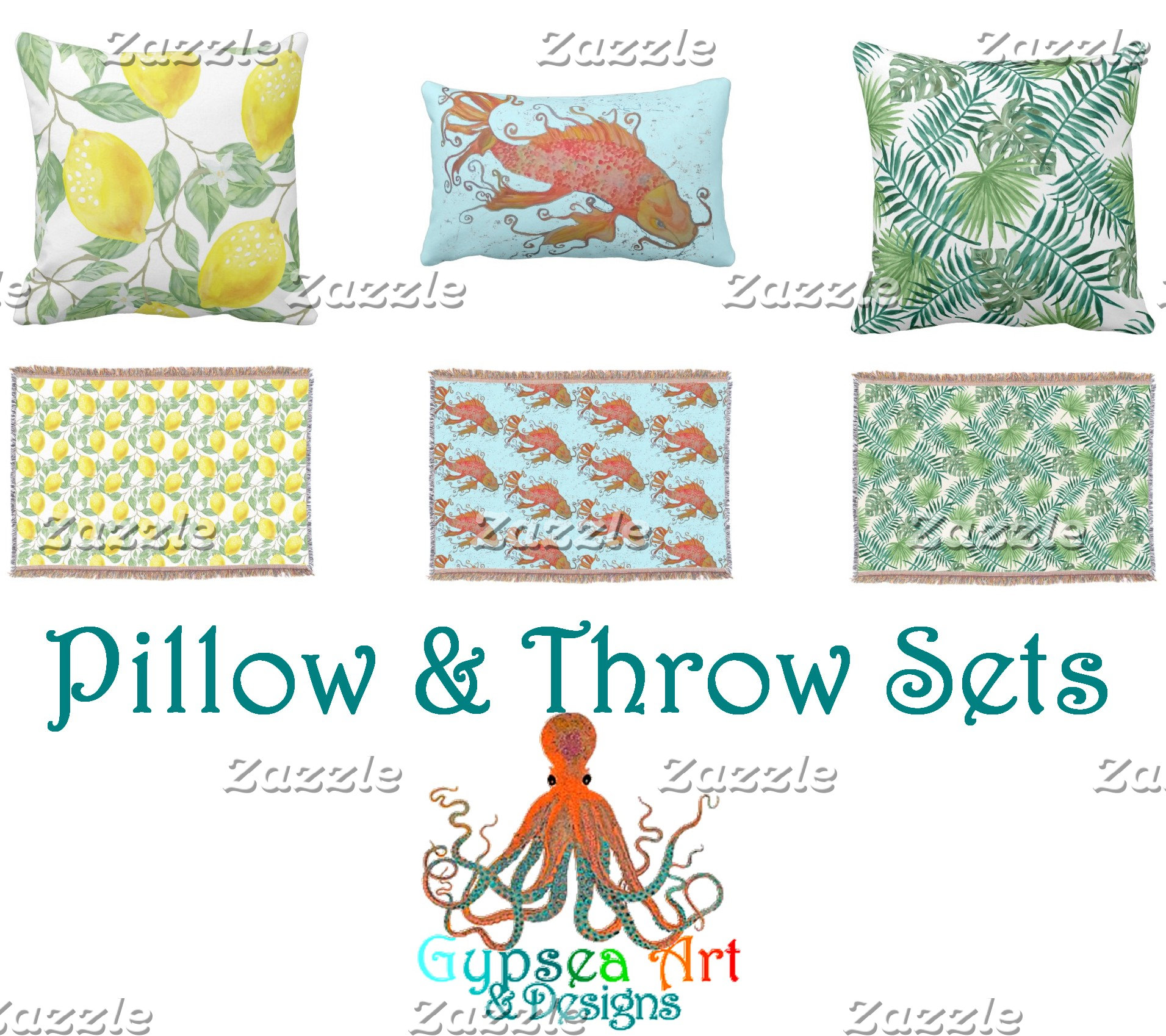 Pillow And Throw Sets