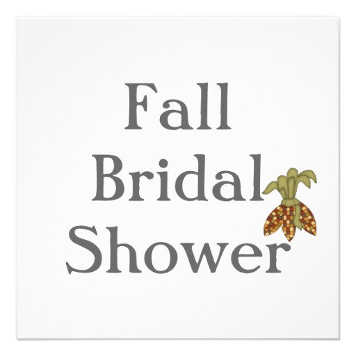 Fall Bridal Shower