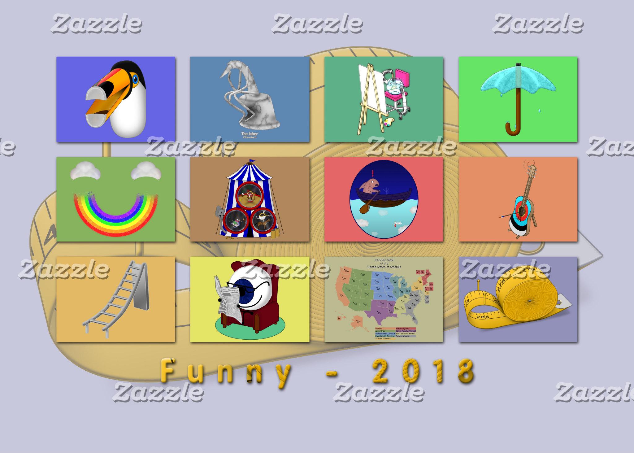 (new!) 2018 Calendars