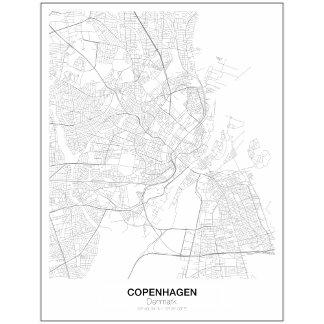 MINIMALIST MAPS - NEW STYLE