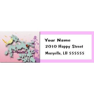 Address Labels/Stationery