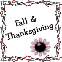 Fall and Thanksgiving