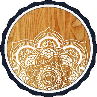 Wood and Mandala