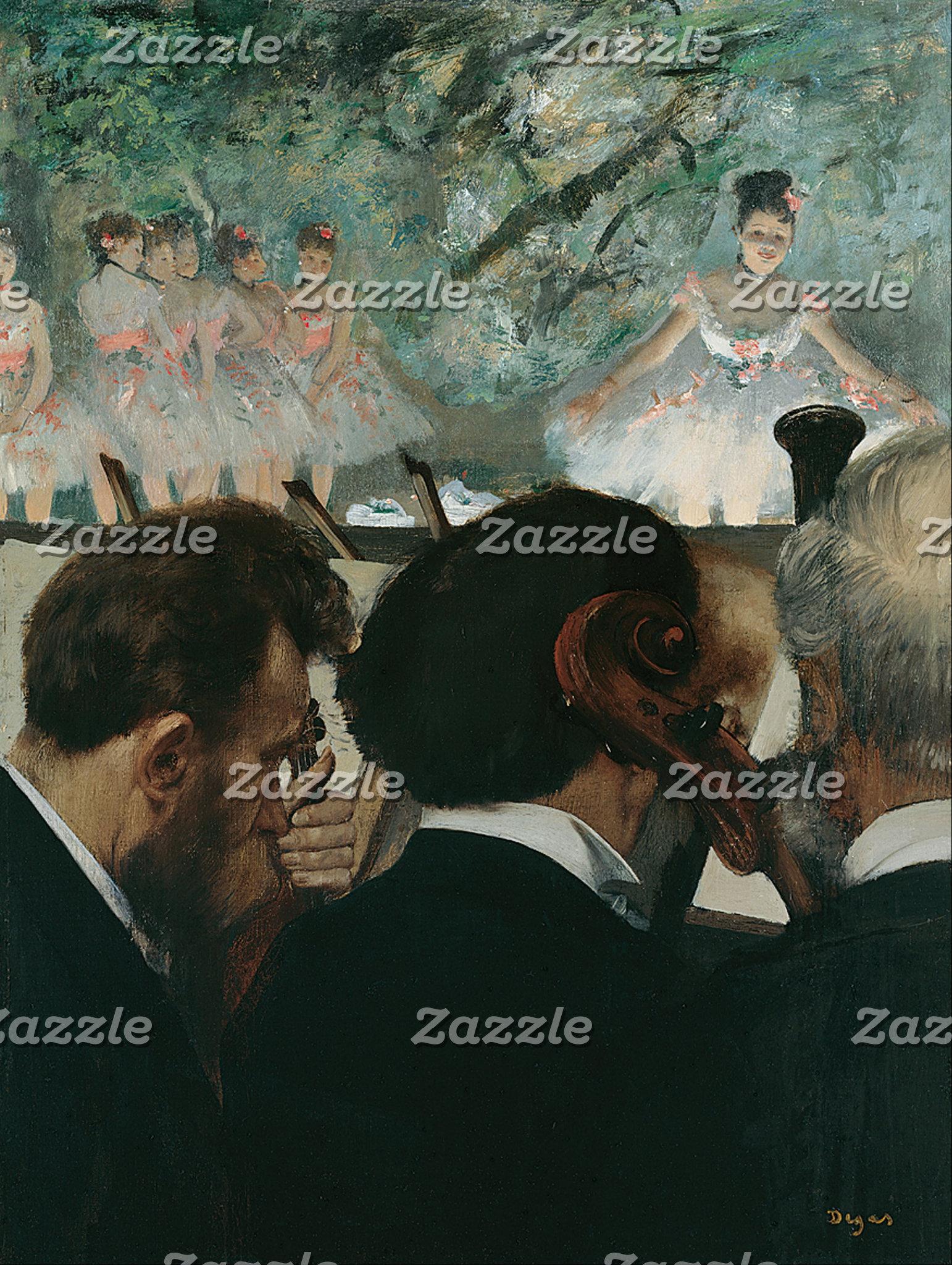 Edgar Degas | Orchestra Musicians