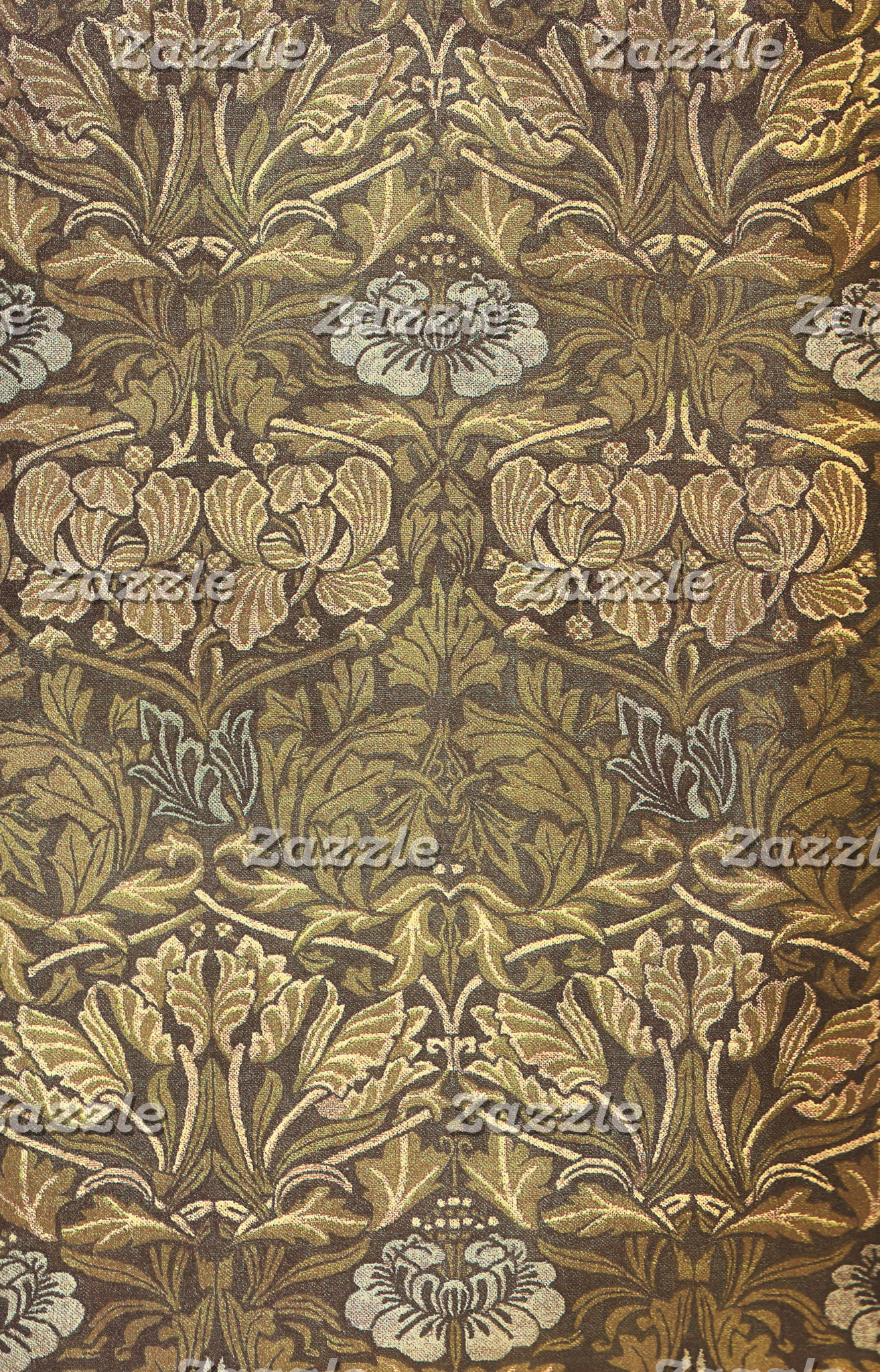 William Morris Tulip and Rose Pattern