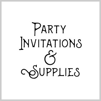 Party Invitations and Supplies