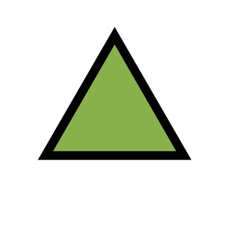 Arrow and Triangle