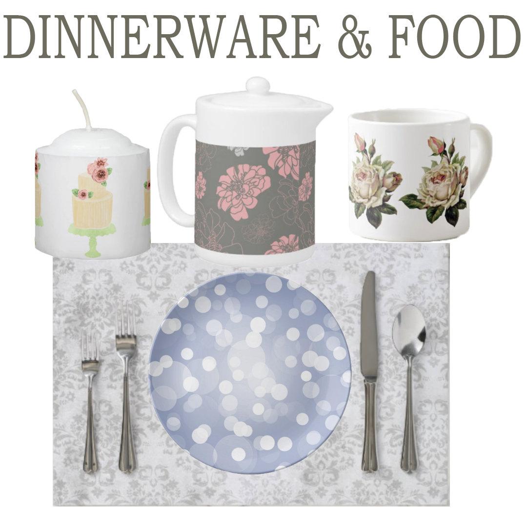 Dinnerware & Food