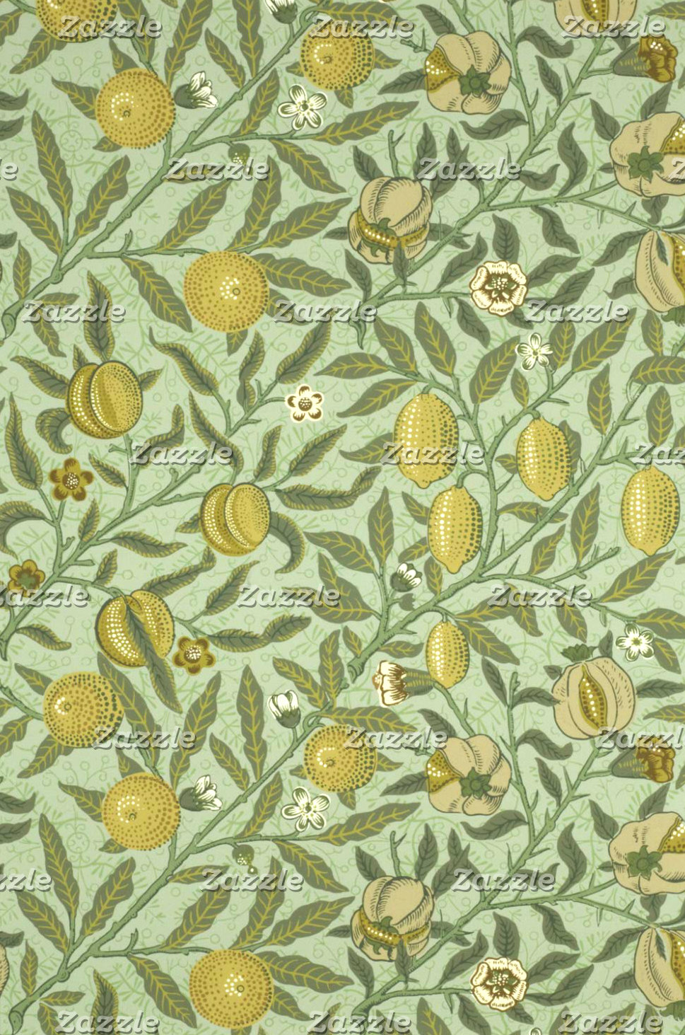 William Morris Pomegranate Fruit Design