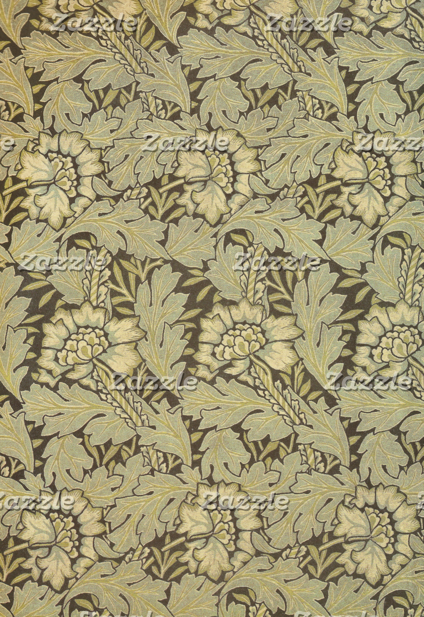 William Morris Anemone Pattern
