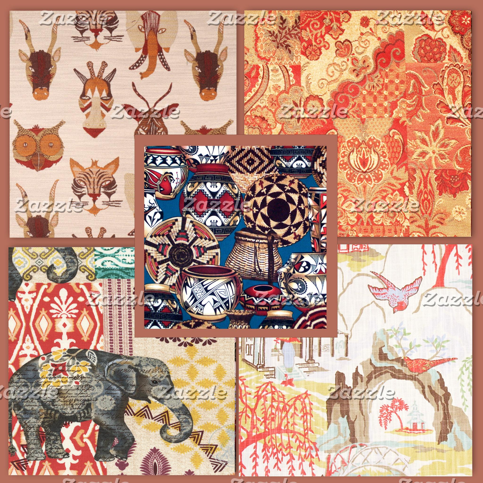 *Ethnic, (COUNTRY) Fabrics