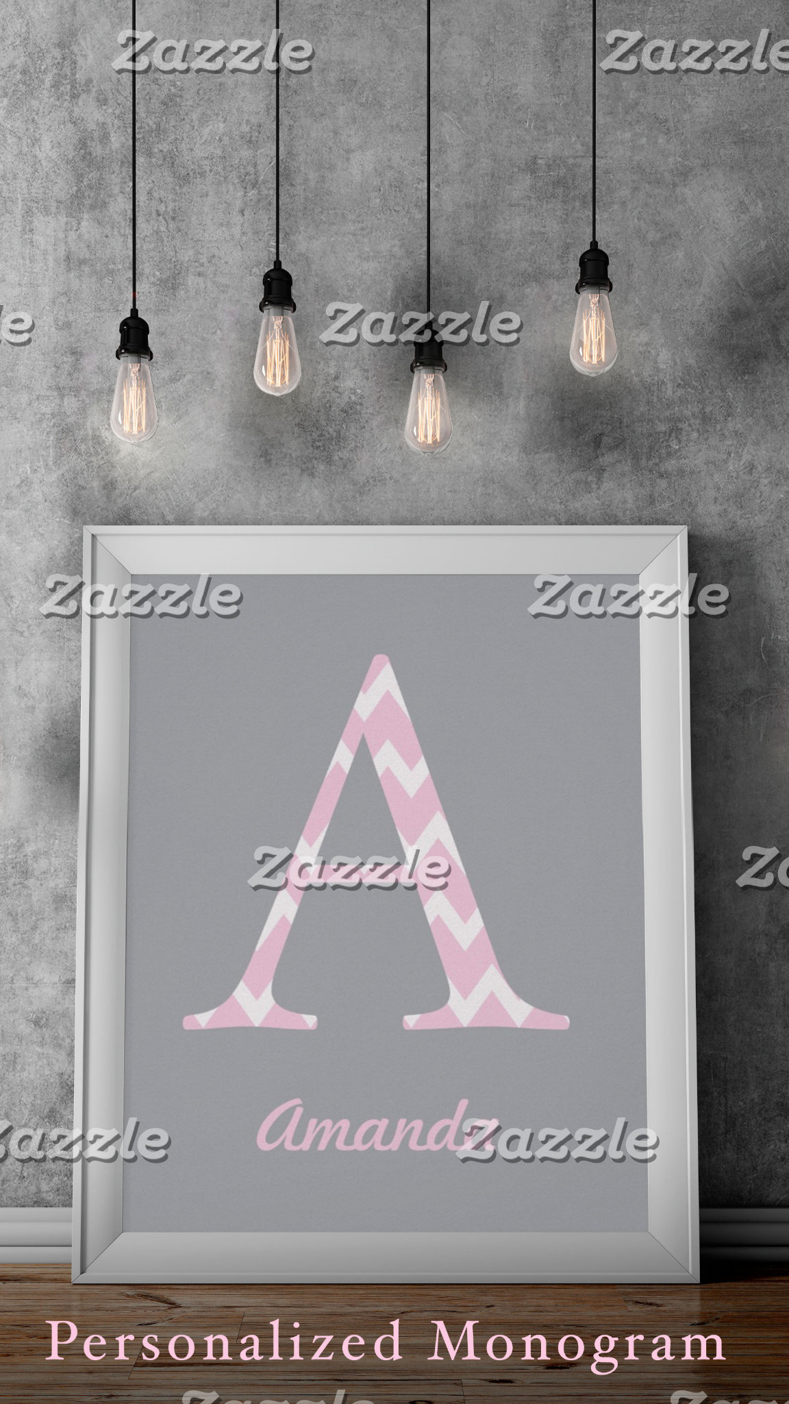 Monogrammed Posters
