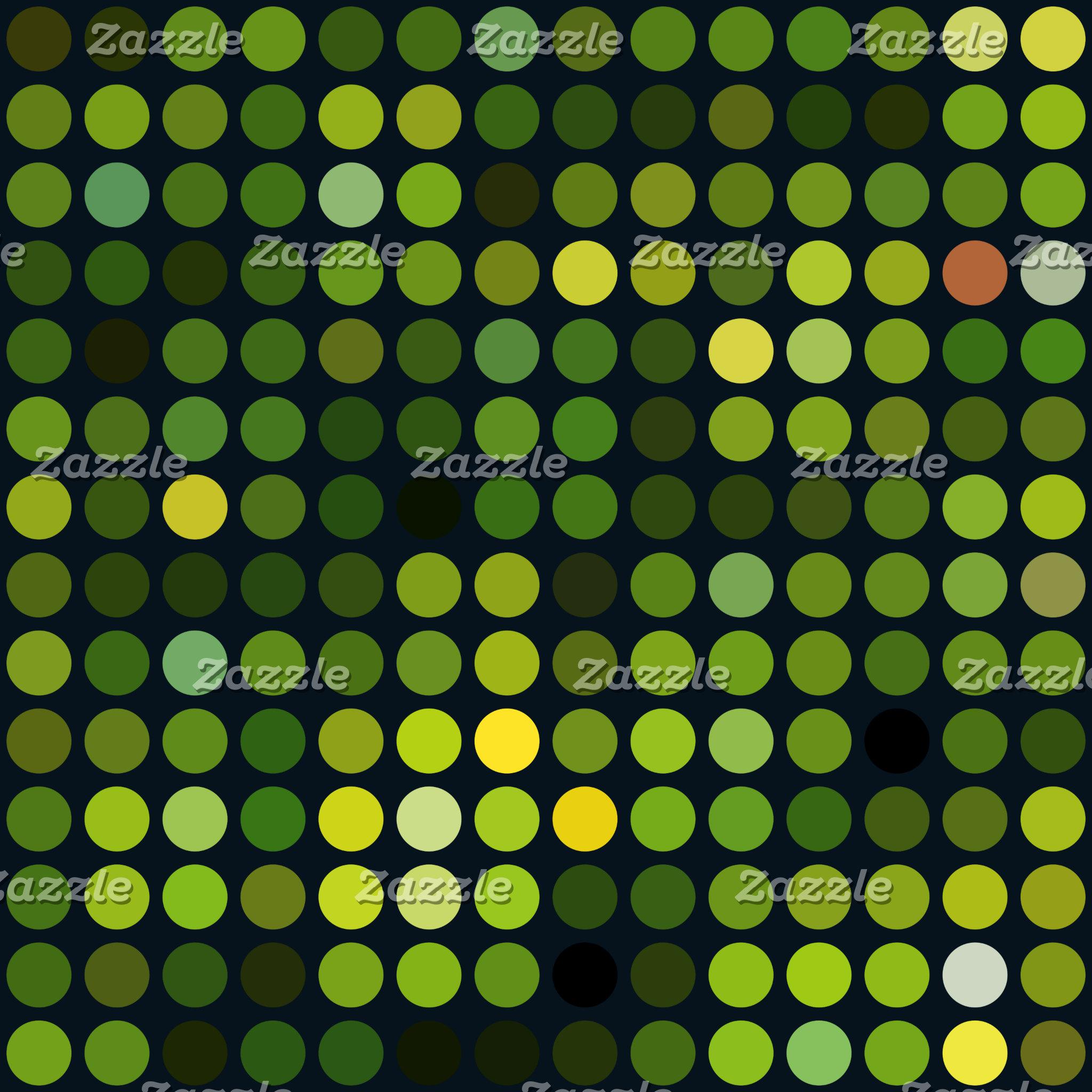 Geometric Patterns   Green Circles