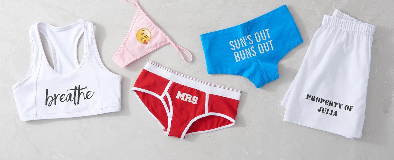 Överraska din käraste med presonligt tryckta underkläder!