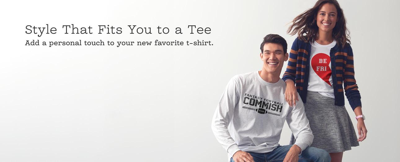 Skapa egna personliga tröjor och tshirts