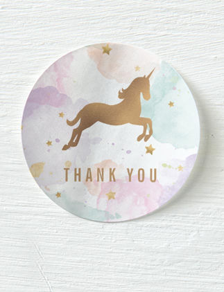 Customized Thank You Stickers