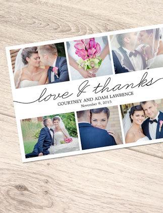 Skapa egna fotokort för att säga Tack!