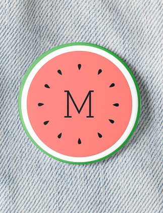 Personalise Badges at Zazzle