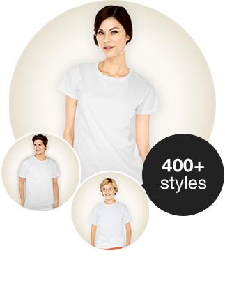Skapa Tshirts med egen text och personliga foton eller mönster.
