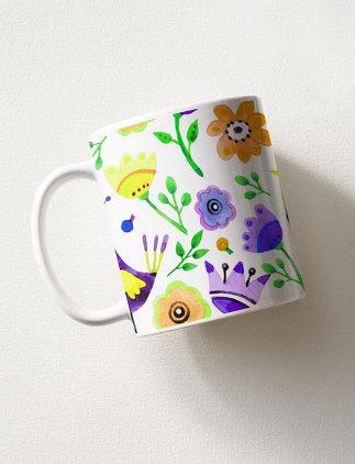 Botanical Mugs