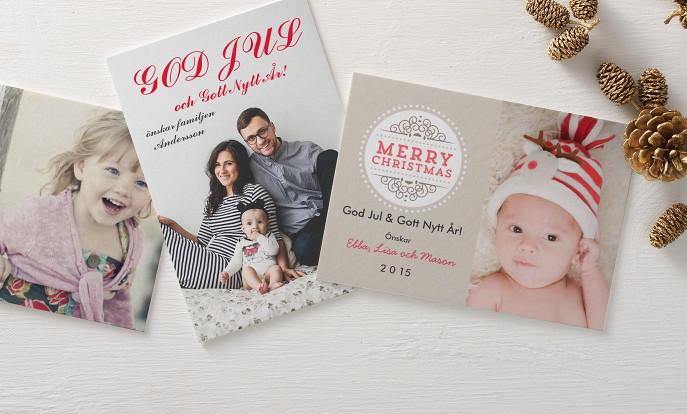 Skicka ett Julkort
